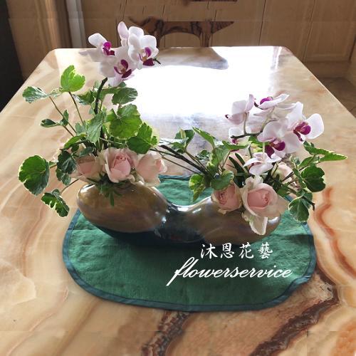 M060祝賀盆花喜慶盆花開幕喬遷盆花