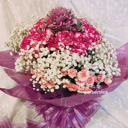 K091LoveForever傳情花束綜合花束
