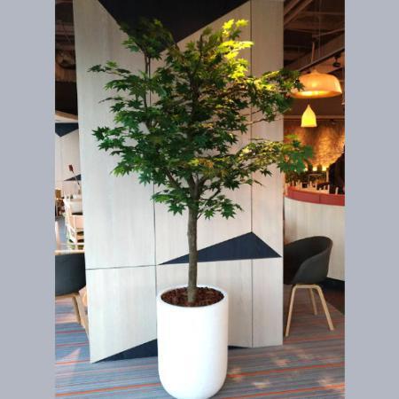 R019人造盆栽店面擺飾盆栽