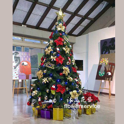 H011聖誕樹佈置歡樂聖誕