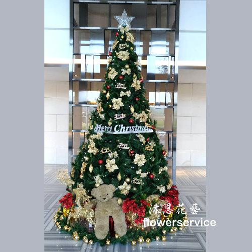 H012聖誕樹佈置歡樂聖誕