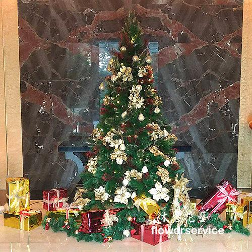H013聖誕樹佈置歡樂聖誕會場佈置