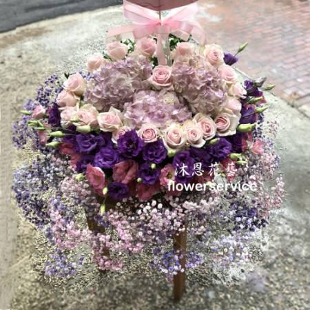 M066時尚祝賀盆花喜慶盆花