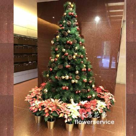 H027聖誕樹佈置歡樂聖誕