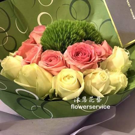 K095玫瑰花束生日特殊節日花束