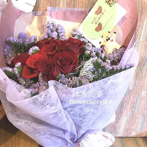 K098玫瑰花束情人節花束生日特殊節日花束