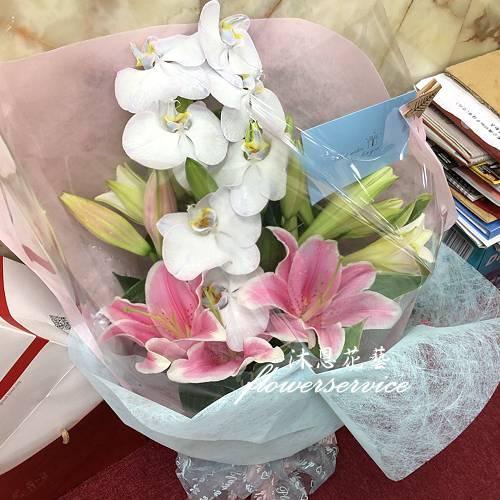 K103百合花束特殊節日花束