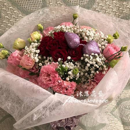 k106浪漫花束傳情花束母親節花束