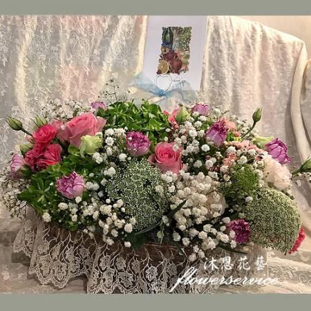 M084媽咪:母親節快樂母親節盆花