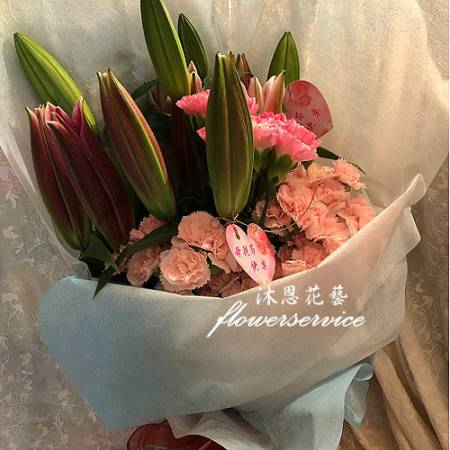 K116馨愛媽咪母親節花束