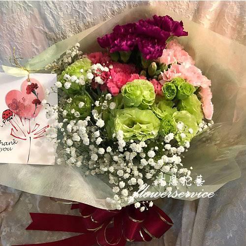 K117愛心滿滿母親節花束台北士林花束