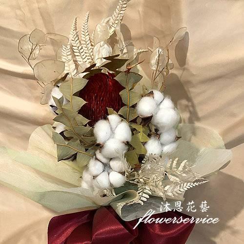 E005乾燥花台北士林代客送花
