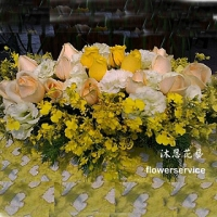 M017台北花店沐恩花藝祝賀盆花喜慶盆花