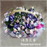 M021愛心滿滿母親節盆花