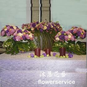 A014婚禮會場佈置