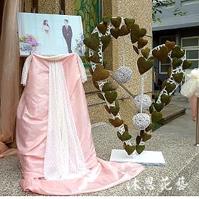 A015婚禮會場佈置