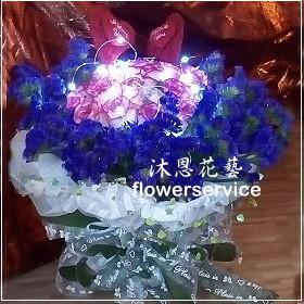 K042情人節花束進口玫瑰,求婚花束