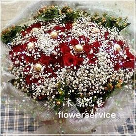 K046情人節花束進口玫瑰,求婚花束