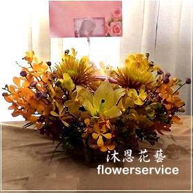 M045台北花店沐恩花藝祝賀盆花喜慶盆花