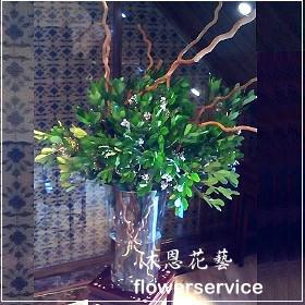 M047台北花店沐恩花藝祝賀盆花喜慶盆花