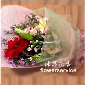 K050愛心滿滿母親節花束