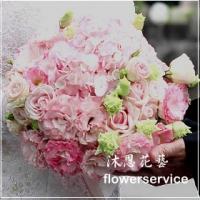 B007新娘捧花-北花店士林區花店沐恩花藝