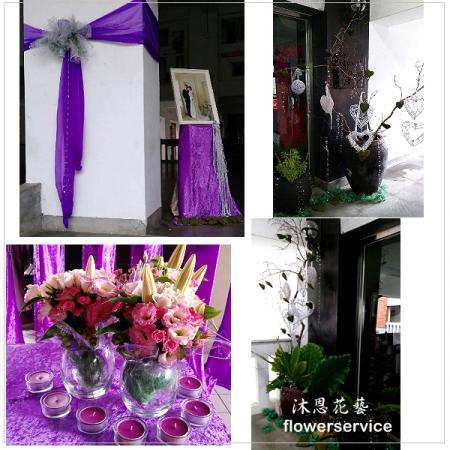 A016婚禮會場佈置