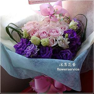K067玫瑰花束情人節花束生日特殊節日花束
