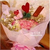 K066玫瑰花束情人節花束生日花束