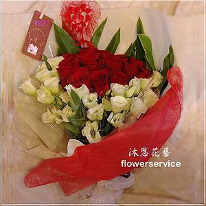 K070玫瑰桔梗花束情人節花束生日特殊節日花束