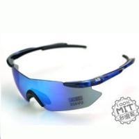 AD品牌~寬臉適用鏡腳自動調整式運動防風護目太陽眼鏡~台灣外銷精品型號HERO