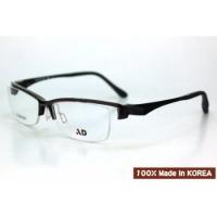 AD品牌~韓國製Ultem(鎢鈦)材質(PEI)3D立體塑鋼近視光學半框型號:Aero502