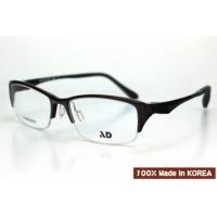 AD品牌~韓國製Ultem(鎢鈦)材質(PEI)3D立體塑鋼近視光學半框型號:Aero503
