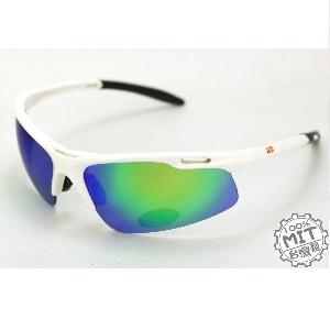 AD品牌~Orange系列超優質騎士黑色運動太陽眼鏡-Orange