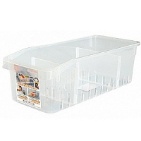 D69D-69(大)冰箱收納盒(附隔板)聯府KEYWAY