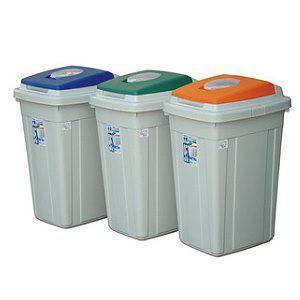 CL95CL95日式分類附蓋垃圾桶KEYWAY聯府