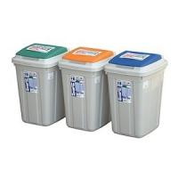 CL26CL26日式分類附蓋垃圾桶KEYWAY聯府