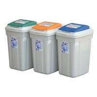 CL42CL42日式分類附蓋垃圾桶KEYWAY聯府