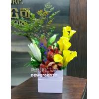 D024精緻盆花桌上型盆花