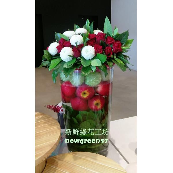 D029精緻盆花桌上型盆花
