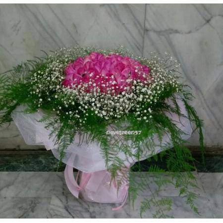 A001玫瑰花束情人節花束生日浪漫花束