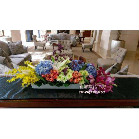 D040桌上型盆花