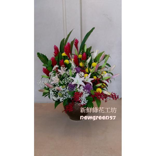 D041桌上型盆花