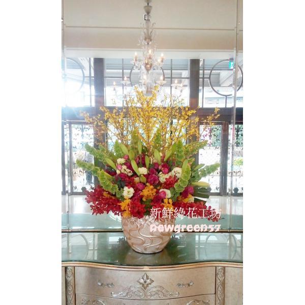 D043桌上型盆花