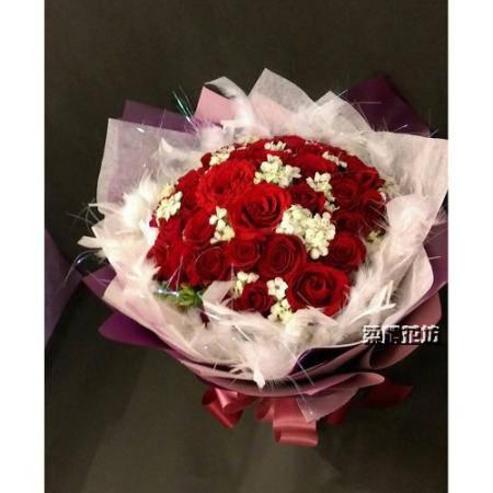 A026聖誕節花束情人花束求婚花束