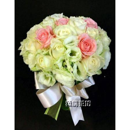 F001新娘捧花婚禮的祝福