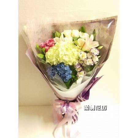 A046生日花束情人花束婚禮祝福花束