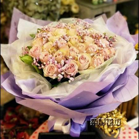 A052生日花束情人花束求婚花束