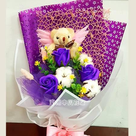 B003我給你的愛最多時尚香皂花屏東潮州