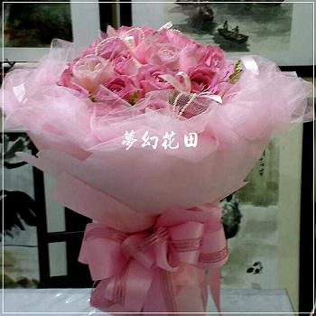 A008玫瑰花束情人節花束